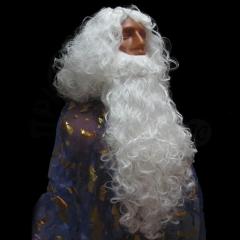 Борода и парик «Деда Мороза»