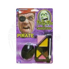 Грим пирата «С повязкой»