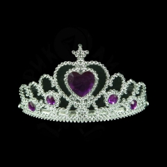Корона «С фиолетовым сердечком»