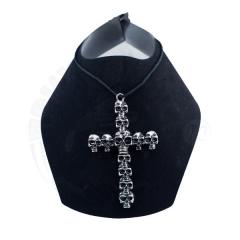Подвеска «Крест с черепами»