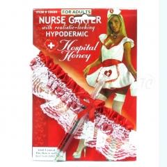 Подвязка «Медсестры» с ручкой-шприцом