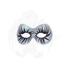 Полумаска Мистер Х (серебро)