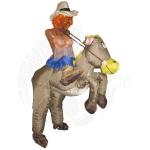 Ковбой на лошади