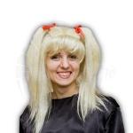 Блондинка С хвостиками